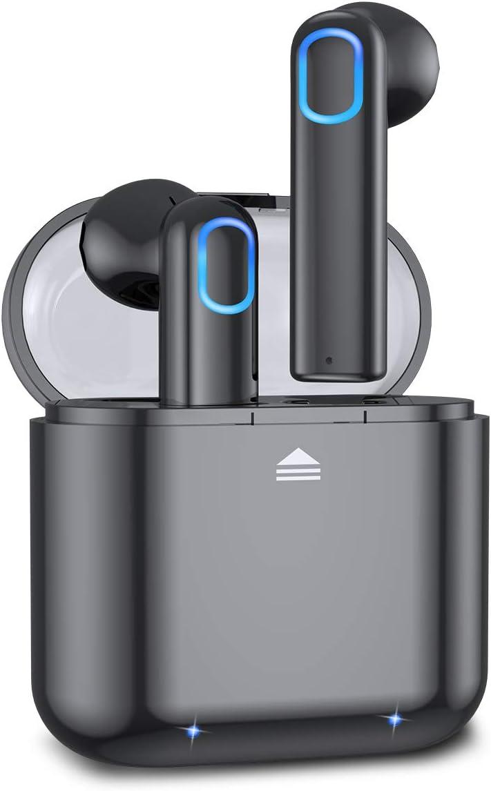 Acokki Bluetooth Headphones Wireless Earbuds, Deep Bass