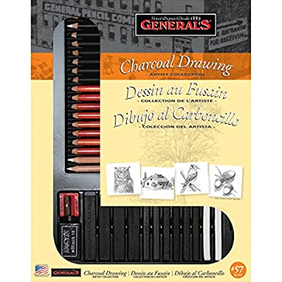 Brand New Charcoal Drawing Set- Brand New