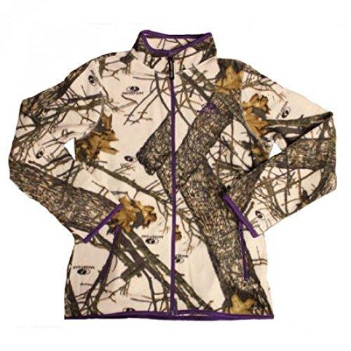 6f36f505e41 Mossy Oak W316236 Womens Fleece Camo Full-Zip Jacket Color Mo Snow Large   Amazon.ca  Electronics