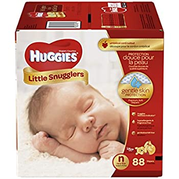 Amazon Com Huggies Little Snugglers Diapers Newborn Up