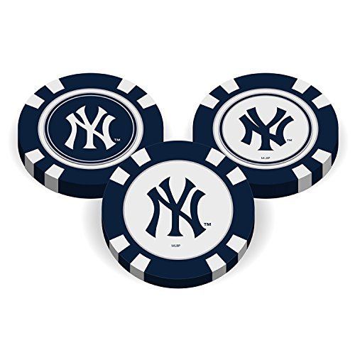 Team Golf MLB Poker Chip Ball Marker (New York Yankees)