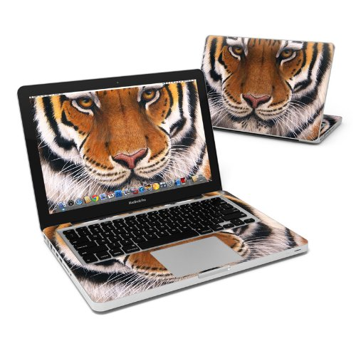 Siberian Tiger Full-Size 360° Protector Skin Sticker for Apple MacBook Pro 13'' Inch - Ultra Thin Protective Vinyl Decal wrap Cover