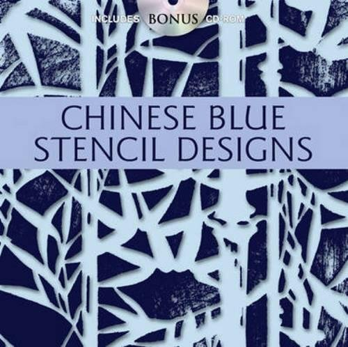 Buy Chinese Blue Stencil Designs (Dover Pictorial Archive