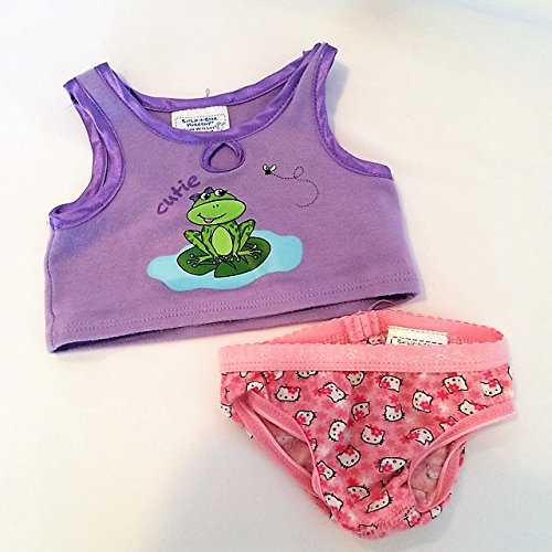 Build A Bear Workshop Frog Tank Top and Hello Kitty (Hello Kitty Frog)