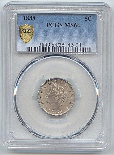 1888 Liberty Nickel MS-64 PCGS