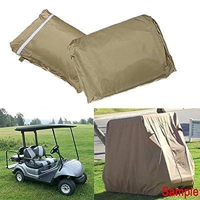 Labellevie Golf Cart Cover Storage Fit EZ Go, Club Car, Yamaha Cart-4 person