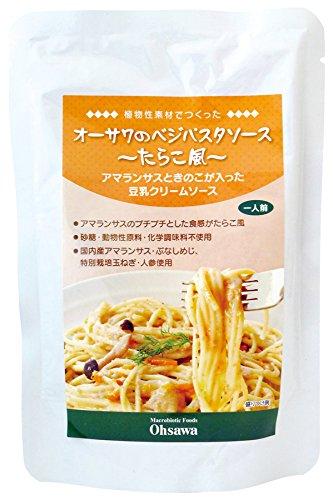 Osawa Veggie salsa de pasta (estilo de huevas de bacalao)