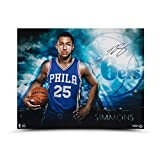 "BEN SIMMONS Autographed ""Ready"" 20 x 16 Photo UDA"