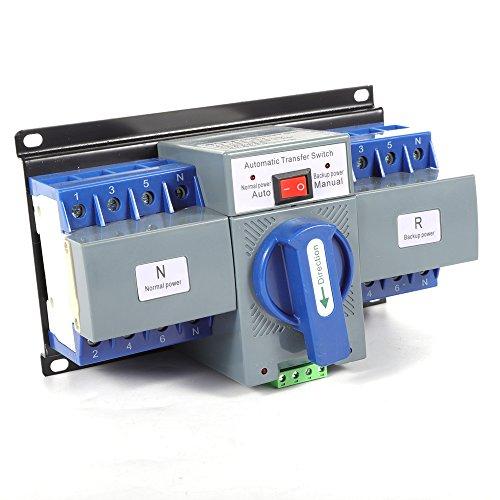 Eapmic 50/60HZ AC-33iB AC400V 63A 4P Self cast Conversion Mini Dual Power Automatic Transfer Switches ATS CB Level ()