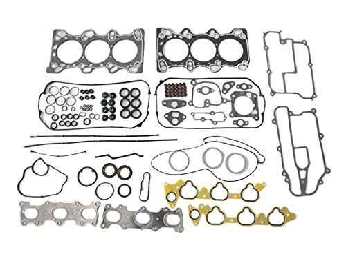 Acura Legend Exhaust Gasket - 1991-2004 Acura Legend, TL, RL 3.2L / 3.5L V6 Eng. Code C32A1, C32A6, C35A1 Graphite Head Gasket Set