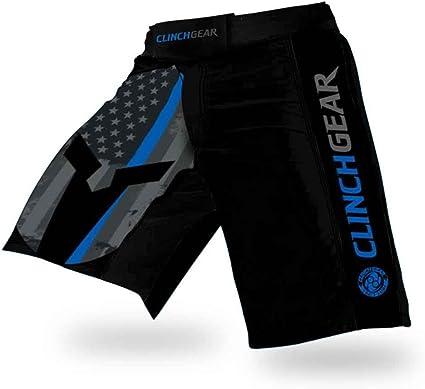 CLINCH GEAR Performance MMA Shorts, Crossfit Shorts - PREMIUM Pro Fight Shorts