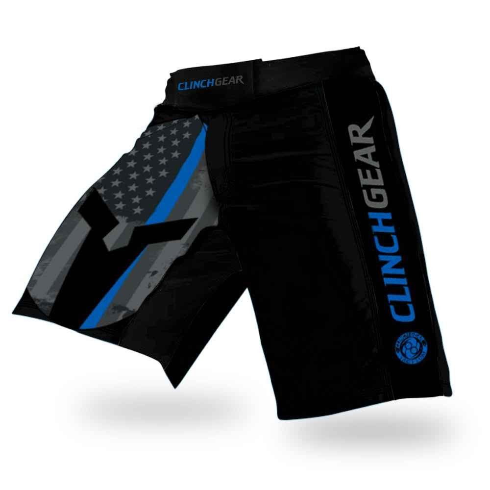 CLINCH GEAR® Performance Cross-Training Shorts - MMA, BJJ, WOD, OCR, No-Gi, Fight Shorts