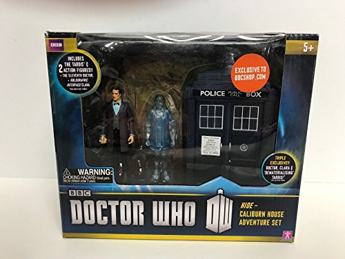 DOCTOR WHO Hide-Caliburn House Adventure Set with Clara and 11th DR action figures