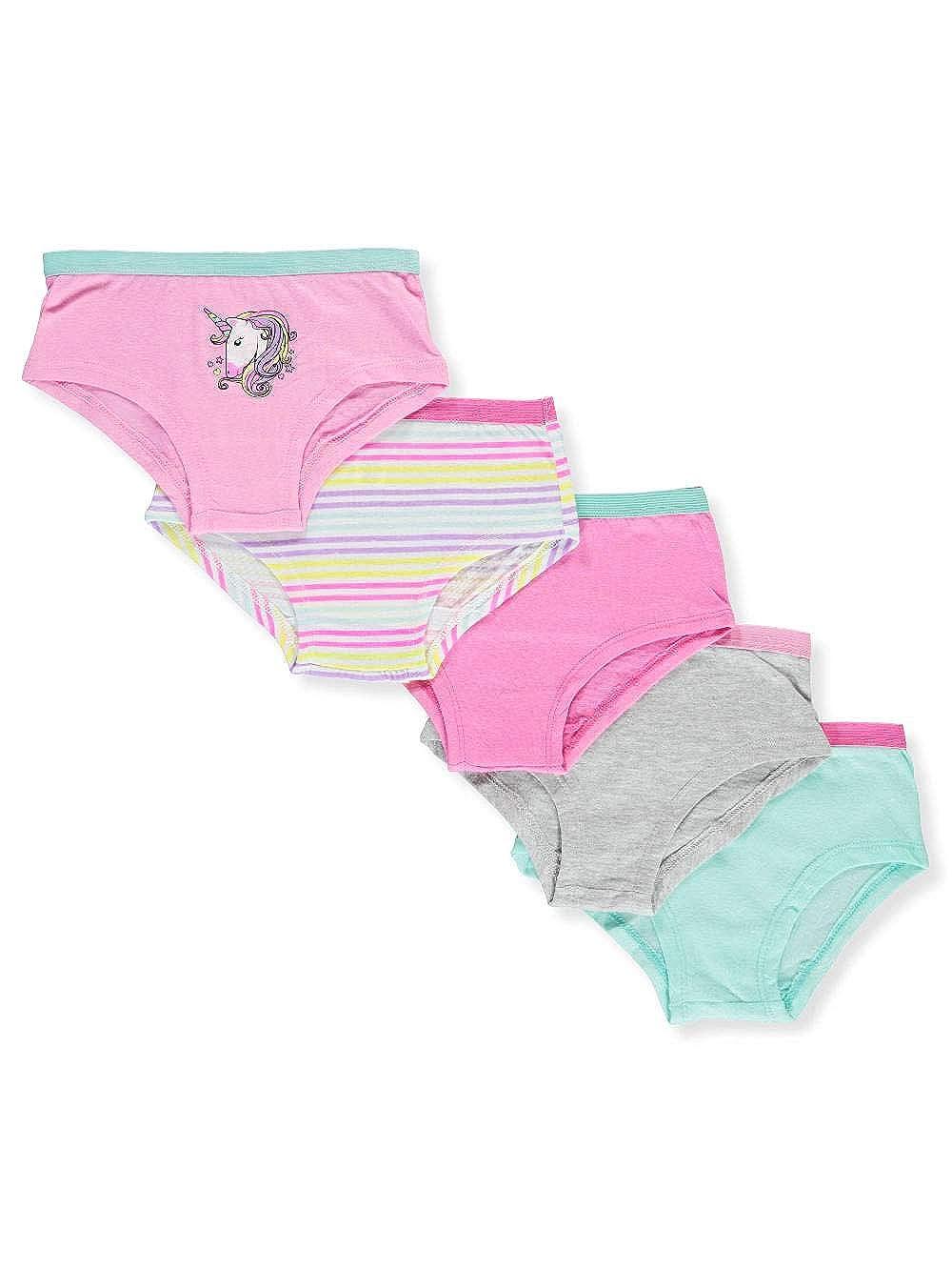 Sweet Princess Girls 5-Pack Boy Leg Panties