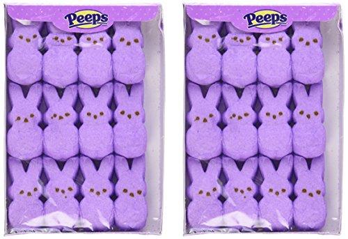 Marshmallow Peeps Purple Easter Bunnies, 2 (Peeps Bunny)