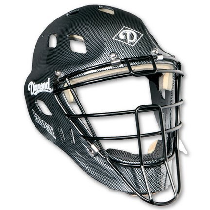 Baseball Catchers Helmet - IX3 Edge By Diamond - Large