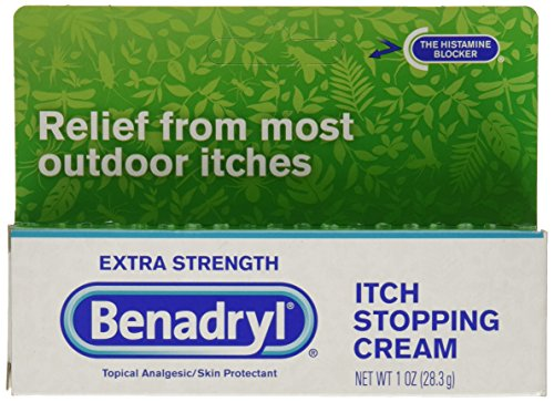 Extra Strength Itch Stopping Cream - Benadryl Extra Strength Itch Stopping Cream, 1 Ounce