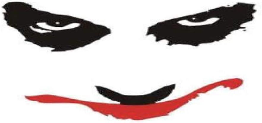 adgkitb 5piezas Joker Tatuaje Temporal Pegatina Impermeable Fiesta ...
