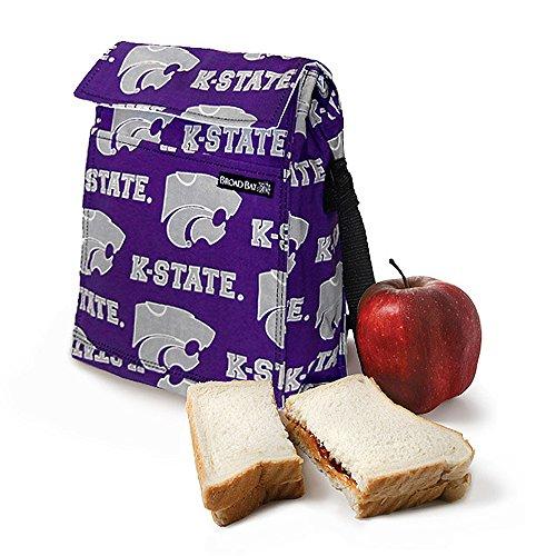 K-State Lunch Bag KANSAS STATE Lunchbox Cooler with SHOULDER -