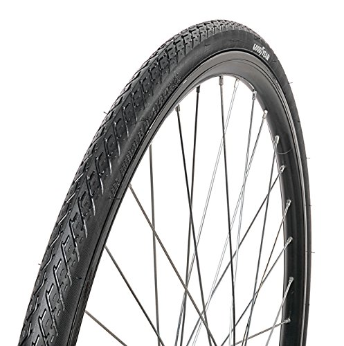 - Goodyear Folding Bead Road Bike Tire, 700 cm x 28, Black