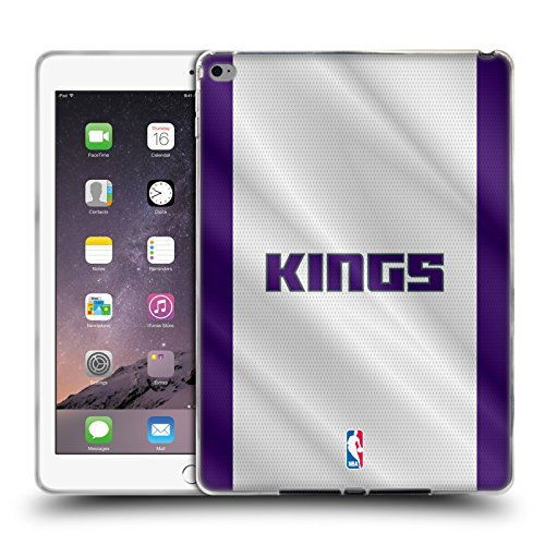 Official NBA Jersey Sacramento Kings Soft Gel Case for Apple iPad Air 2