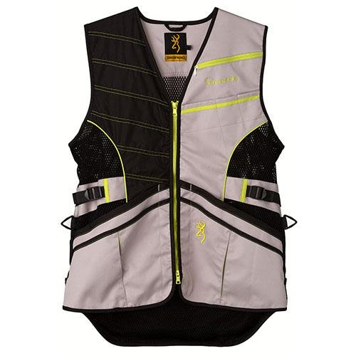Browning Vest Ace Shooting Neon Ylw, Size: M (3050820502)
