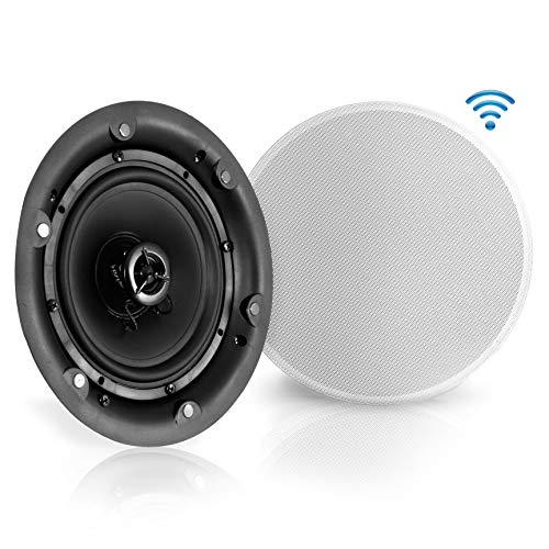 "6.5"" Ceiling Wall Mount Speakers - 2-Way Full Range Active"