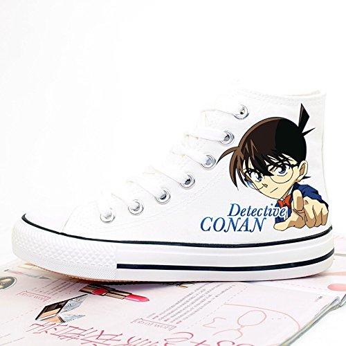 Detective Conan Zaak Gesloten Anime Jimmy Kudo Canvas Schoenen Cosplay Schoenen Sneakers
