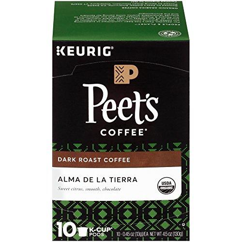 Peet's Coffee People & Planet Alma De La Tierra Unlit Roast K-cup Pack, 10ct