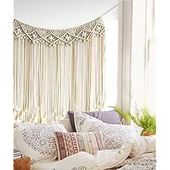 Amazon Com Macrame Wall Hanging Boho Wedding Hanger