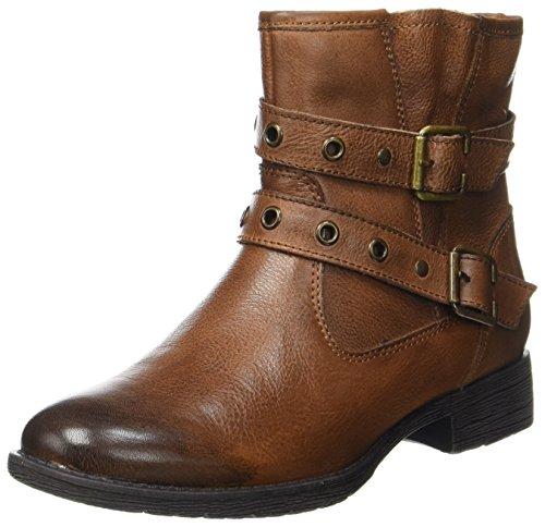 Boots Cognac Womens Brown JANA 25410 qI5Rw7ZS