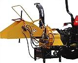 WoodMaxx 8'' Hydraulic Auto-Feed Chipper