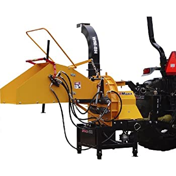 "Amazon.com : WoodMaxx 8"" Hydraulic Auto-Feed Chipper ..."