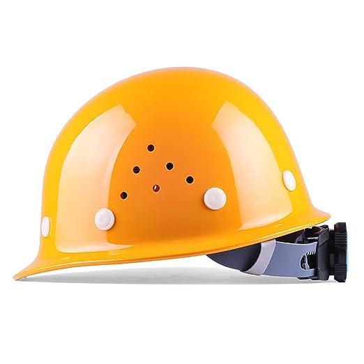 Yloty Conjunto de Casco de Seguridad Transpirable Amarillo, Casco ...