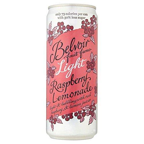 Belvoir Light & Lovely Raspberry Lemonade Can - 330ml (11.16fl oz)