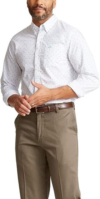 dockers Long Sleeve Button Front Shirts Camisa Abotonada para Hombre: Amazon.es: Ropa y accesorios