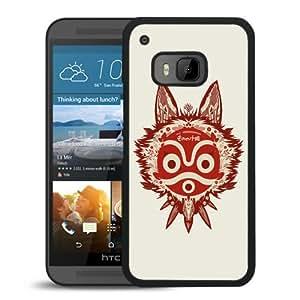 Fashionable Custom Designed Cover Case For HTC ONE M9 With princess mononoke 1 Black Phone Case