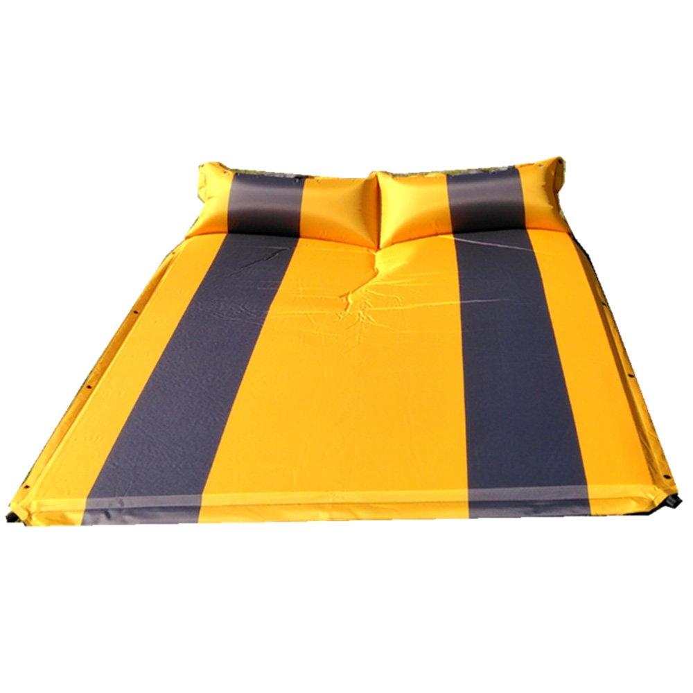 QEL Automatische aufblasbares Kissen Erweitert Design Kissen und Matratzen 2-in-1-Outdoor Camping Company 188  130  3 cm