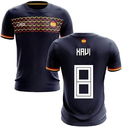 Airosportswear 2019-2020 - Camiseta de fútbol de España (Xavi 8 ...