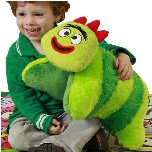 Yo Gabba Gabba Pillow Huggie - Brobee