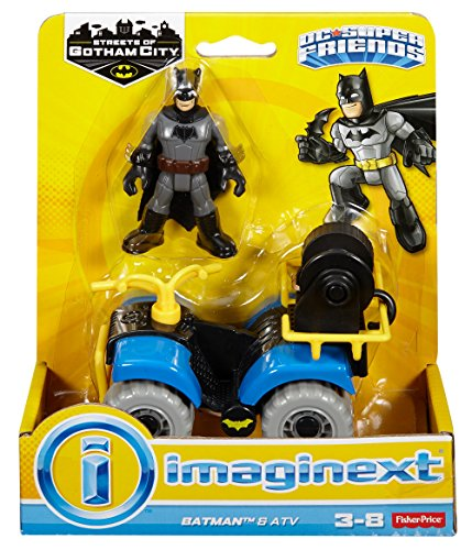 Fisher-Price Imaginext Streets of Gotham City Batman & ATV Action Figure
