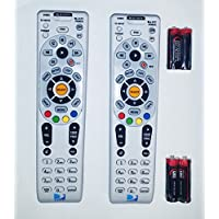 Lot Of Two Remote Controls DIRECTV RC66RX RF Universal Remote Controls W/Batteries Direct TV