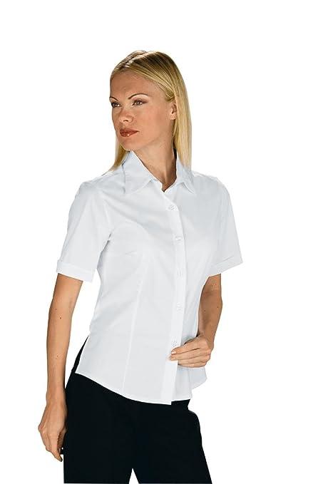 Robinson blusa Panamá STRETCH 3 4-Arm blanco 97% algodón tamaño 3% spandex: Amazon.es: Ropa y accesorios