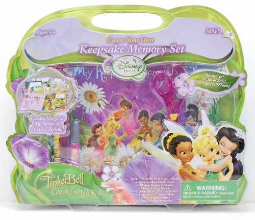 (Horizon Group USA Disney Fairies Keepsake Memory Book)