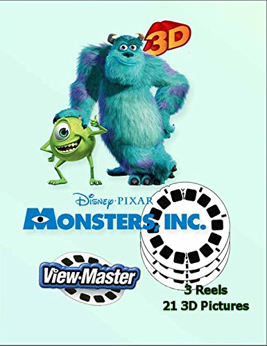 View-Master Monsters Inc. - 3 reels by View Master (Image #3)