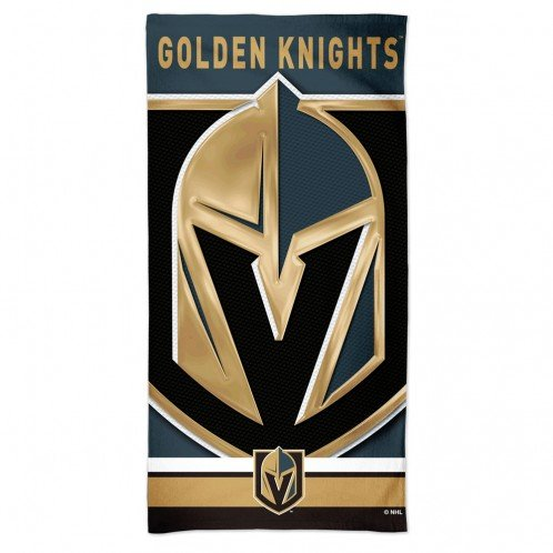 Vegas Golden Knights Beach Towel Golden Knights Beach