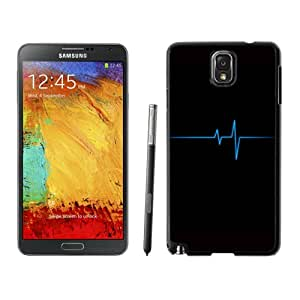 NEW DIY Unique Designed Samsung Galaxy Note 3 Phone Case For Blue Pulse Trace Phone Case Cover