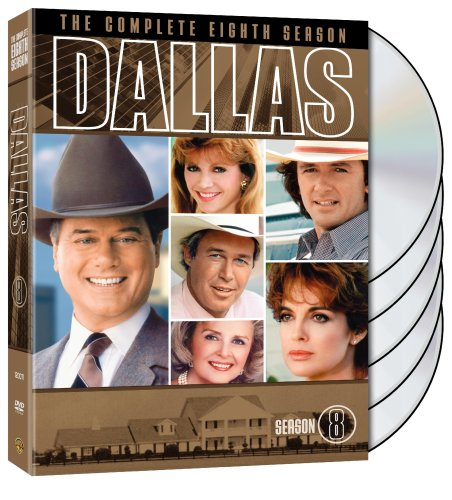 DVD : Dallas: The Complete Eighth Season (Slipsleeve Packaging, Standard Screen, 5 Disc)