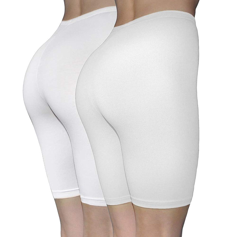 9864c10e70ed Top3: ILKE Women\'s 2 Pack Cotton Active Dance Running Yoga Boyshorts Boxer  Brief Regular and Plus Size