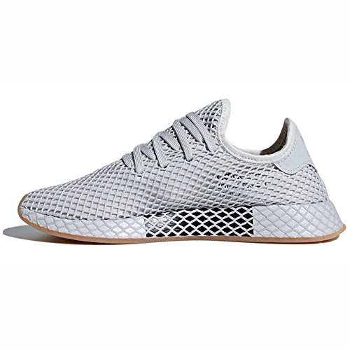 Gum Sneakers de Sneaker 2018 Grey Deerupt Grey Hommes Mode Solid Runner Pour les Lgh Adidas Three nx0UaZFZ